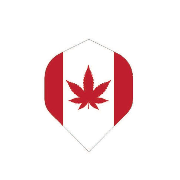 Cannabis Canadian Flag